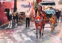 EdnaKyriakides_HorseandCart
