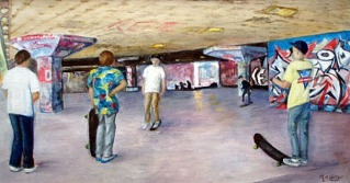 MargaretCarter_Skateboarders