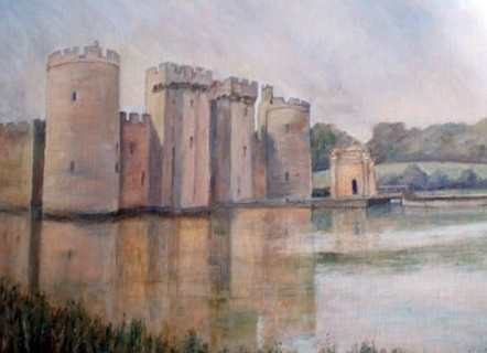 MargaretCarter_SummerEveningBodiamCastle