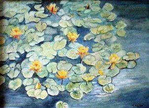 MargaretCarter_Waterlilies