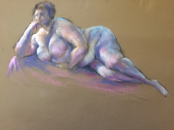 PeterRossington_NudeInPastel