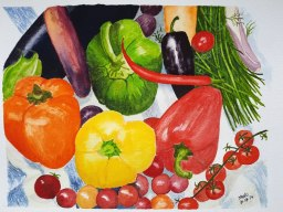 MalcolmBeakhust_VegetableStillLife