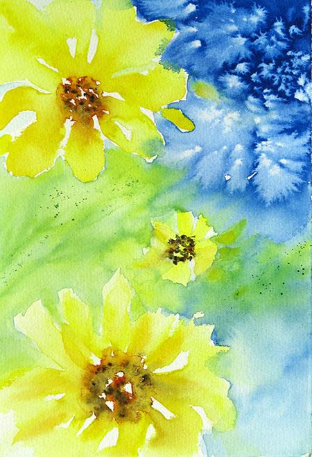 Challenge_Sunflower explosion