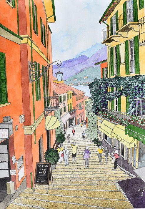 Challenge_Bellagio Street Scene