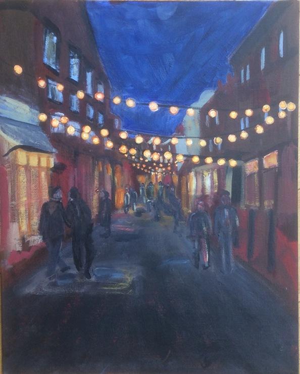 Challenge_Street scene, Hastings