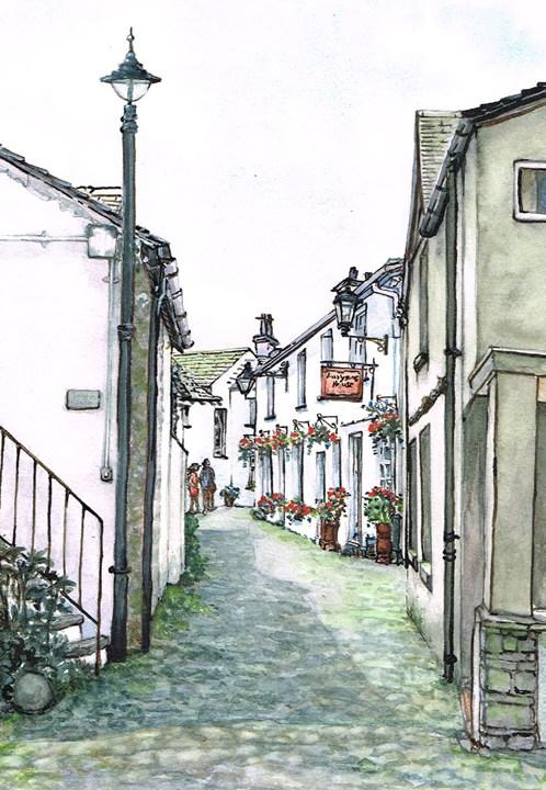 Challenge_ Wordsworth Street, Hawkshead