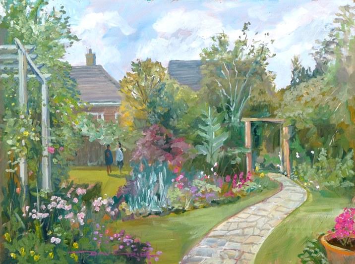crit_davetribe_Gillian's garden
