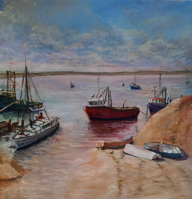 Challenge_Low Tide at Old Leigh