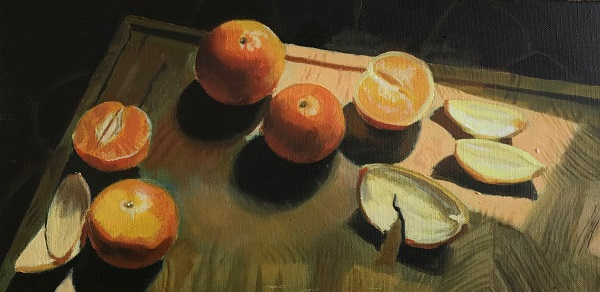 Challenge_Still Life With Oranges