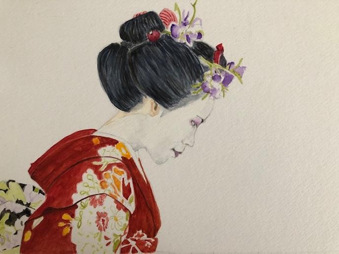 Challenge_The Red Kimono
