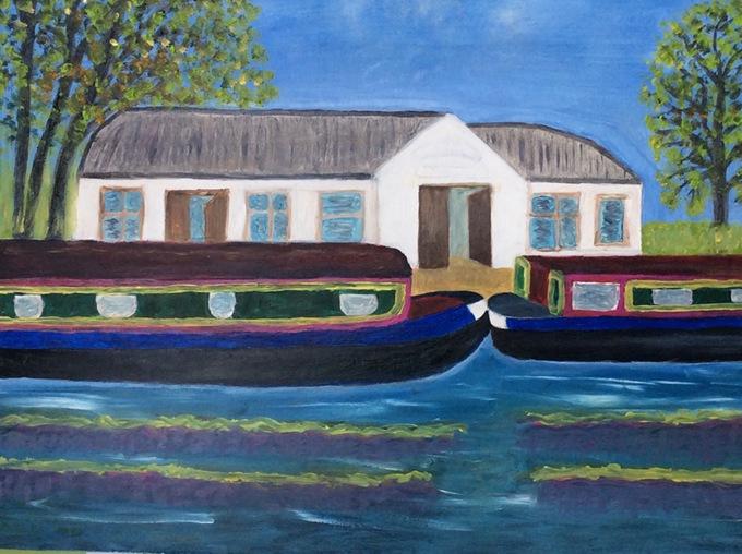 crit_maureenjones_Farncombe Boat House, Godalming