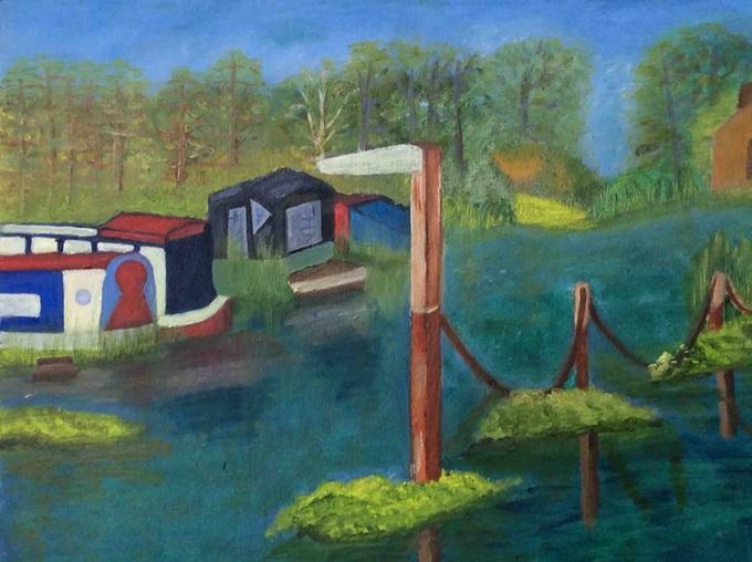 crit_maureenjones_River Wey, Ripley