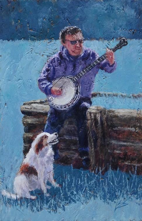 crit_barbarastevens_Bluegrass banjo